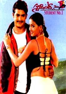 Student No.1 (2001) SL DM - Jr NTR, Gajala, Rajeev Kanakala