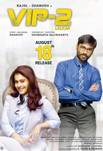 VIP 2 Lalkar (2017) Hindi Dubbed 720p HDRip x264 850MB