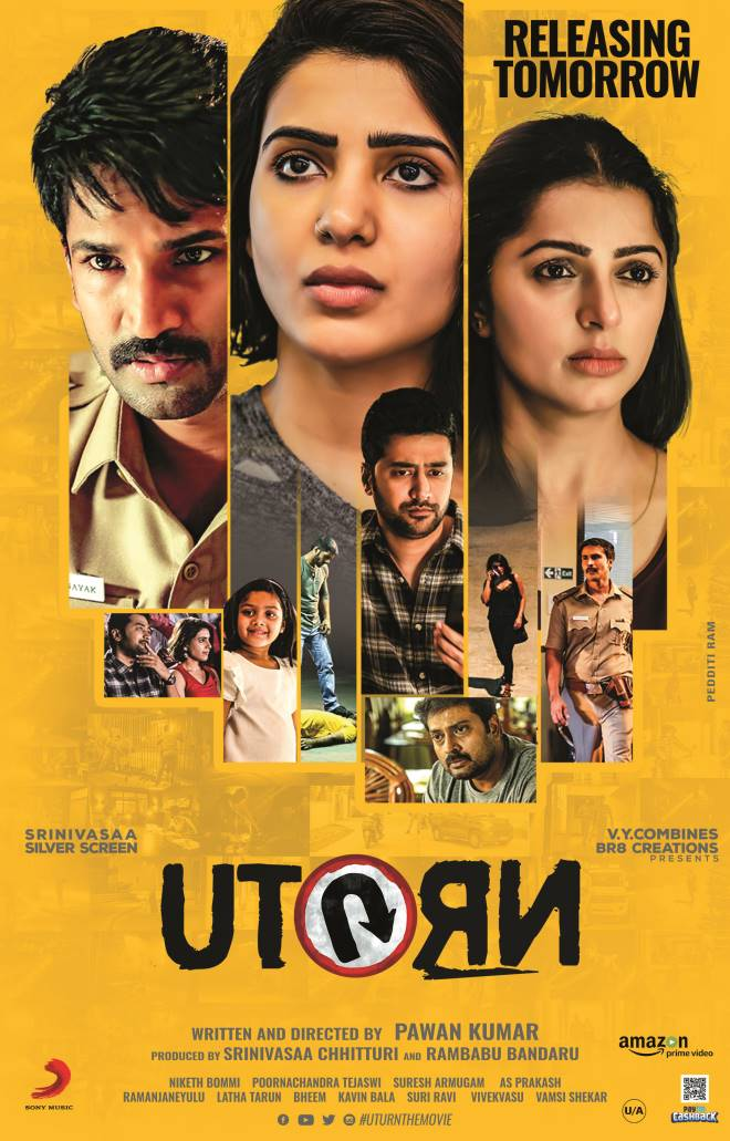 U Turn 2019 Hindi Dubbed 720p HDRip 1GB ESubs